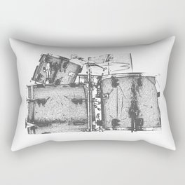 Drummin' Rectangular Pillow