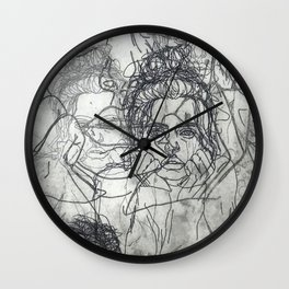 Me, Myself & I Wall Clock