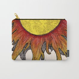 i really just want to be warm yellow light that pours over everyone i love Carry-All Pouch