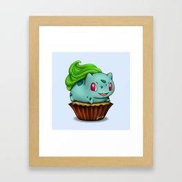 Bulba Cupcake Framed Art Print