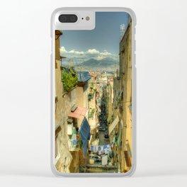 Neapolitan Vesuvius Clear iPhone Case