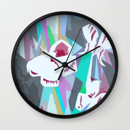 80's Butterfly Wall Clock