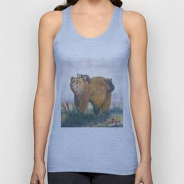 Bear Family Unisex Tank Top