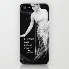 wear history 2 iPhone Case
