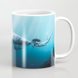 Shark Kiss (Wide) Coffee Mug