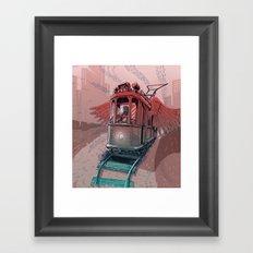 Winged Tram Framed Art Print