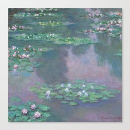 Water Lilies Monet 1905 Canvas Print