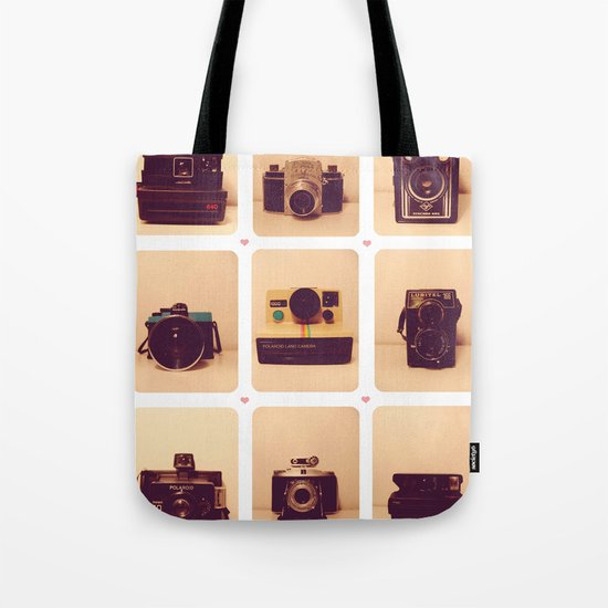 camera love Tote Bag