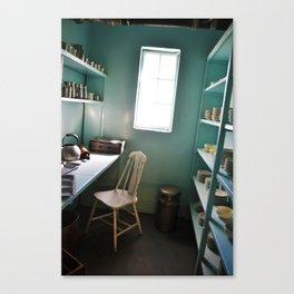 Prison Kitchen Canvas Print