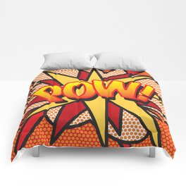 Comic Book POW! Comforters
