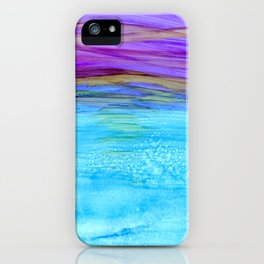 Abstract Magical Sunset iPhone Case