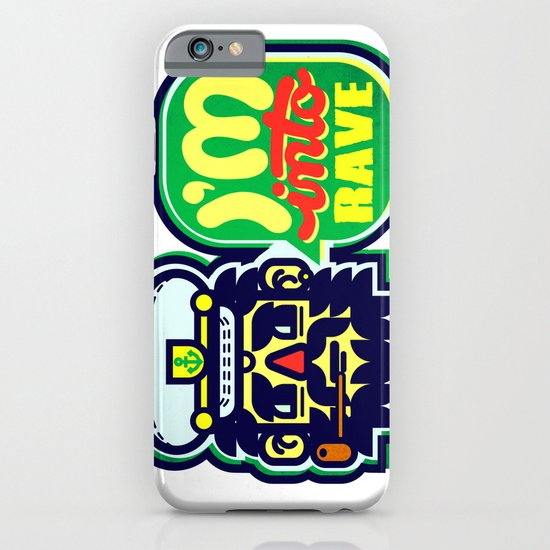 I'm Into Rave iPhone & iPod Case