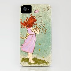 The words carried by the wind iPhone (4, 4s) Slim Case