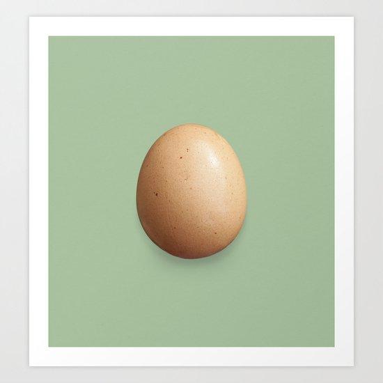 Egg #1 Art Print