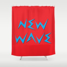 NEW WAVE Shower Curtain