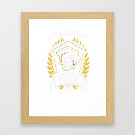 Class-of-2023---Class-of-2023-Graduation-T-Shirt---Sao-chép Framed Art Print