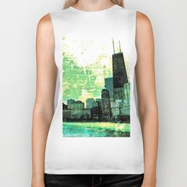 Chicago - The Windy City Biker Tank