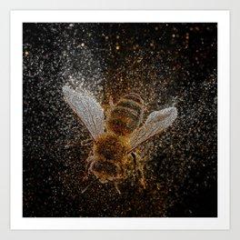 Bees Are Magic Art Print
