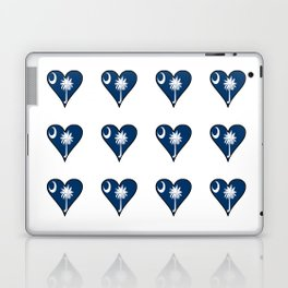 flag of south carolina 3-Savannah,Palmetto,Carolinian,Cotton,South,South carolina,Carolina Laptop & iPad Skin