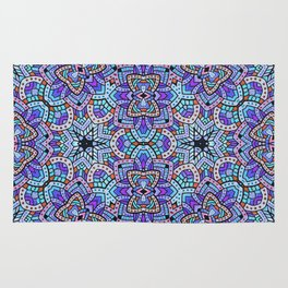 Persian kaleidoscopic Mosaic G509 Rug