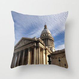 Pantheon (Paris) Throw Pillow