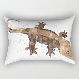 Crested Gecko Rectangular Pillow