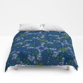 Floral croquis Comforters