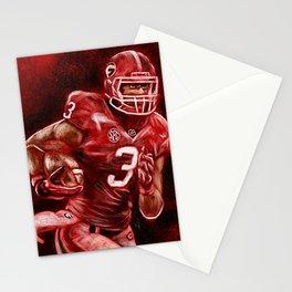 Todd Gurley of UGA Bulldog Football Stationery Cards
