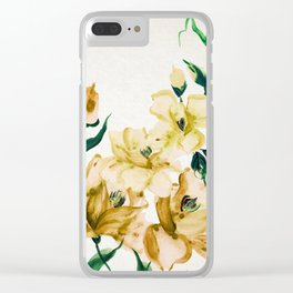 flowers / 63 Clear iPhone Case