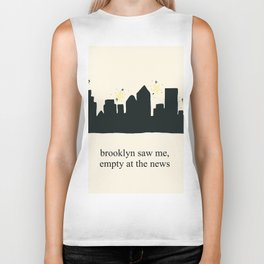 Harry Styles Ever Since New York illustration Biker Tank