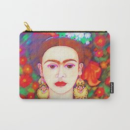 My other Frida Kahlo with butterflies Carry-All Pouch