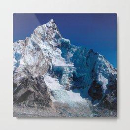 Snowy Peak Metal Print
