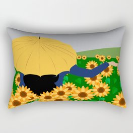 There is rain or no? Rectangular Pillow