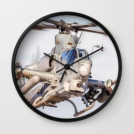 USMC Cobra Attack Helicopter Wall Clock