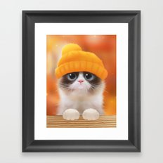 Shui The Kitten Framed Art Print