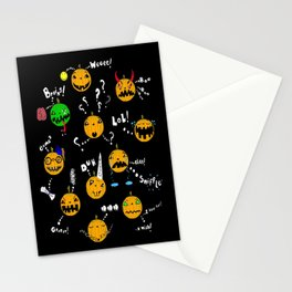 Pumpkins have feelings too - Happy Halloween! Stationery Cards