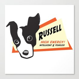 russell 2 Canvas Print
