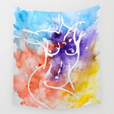 Inverse nude Wall Tapestry