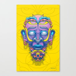 Mask of tomorrow Canvas Print
