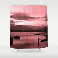 vietnam Shower Curtains featuring FULL OF PEACE - VIETNAM by CAPTAINSILVA