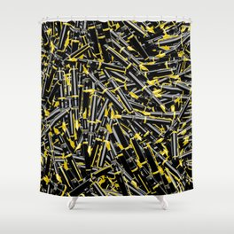 Writer's Tools Shower Curtain