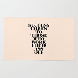 Success Comes to Those Rug