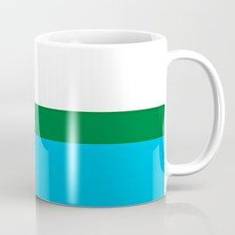 Labrador Flag Square Coffee Mug