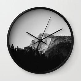 Yosemite National Park IX Wall Clock