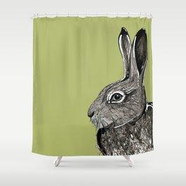 Woodland Hare Shower Curtain
