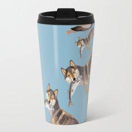 Totem Coastal wolf (c) 2017 Travel Mug