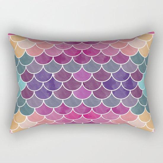 Watercolor Lovely Pattern VV Rectangular Pillow