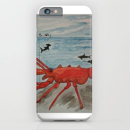 The Monster Lobster iPhone Case