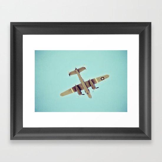 B-25 bomber Framed Art Print