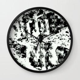 Dirty Me Wall Clock